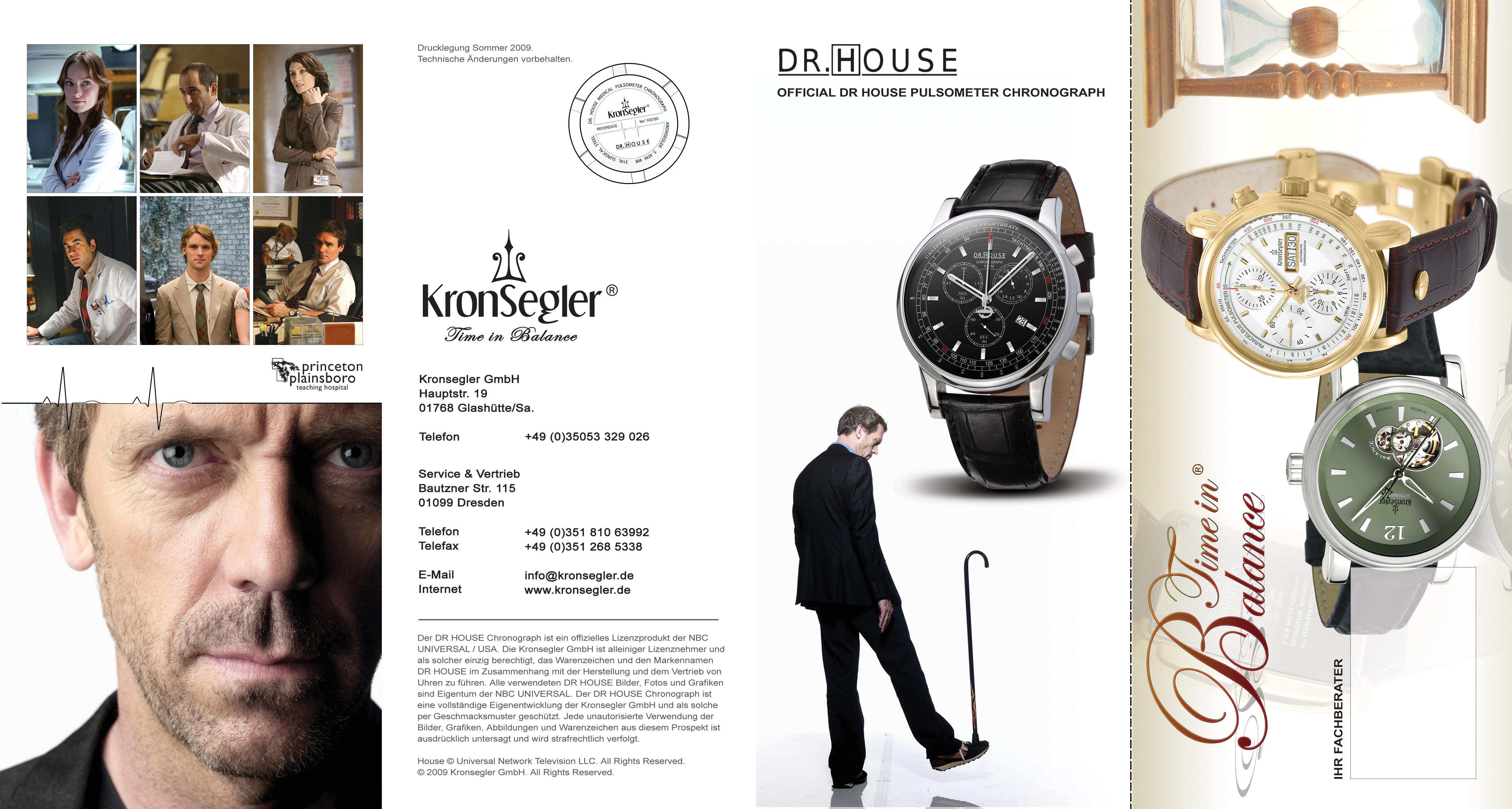 dr house house md damenchronograph dr house uhren. Black Bedroom Furniture Sets. Home Design Ideas